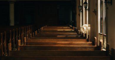 empty church building